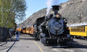 Durango Silverton Narrow Gauge Railroad train
