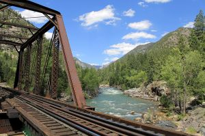 You get to cross the Animas River on THIS.