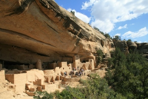 Cliff Palace in Mesa Verde. Can you imagine the commute home after work?
