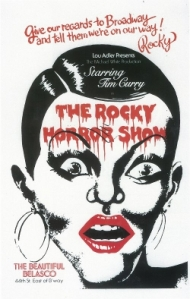 Poster of original Broadway production of The Rocky Horror Show.