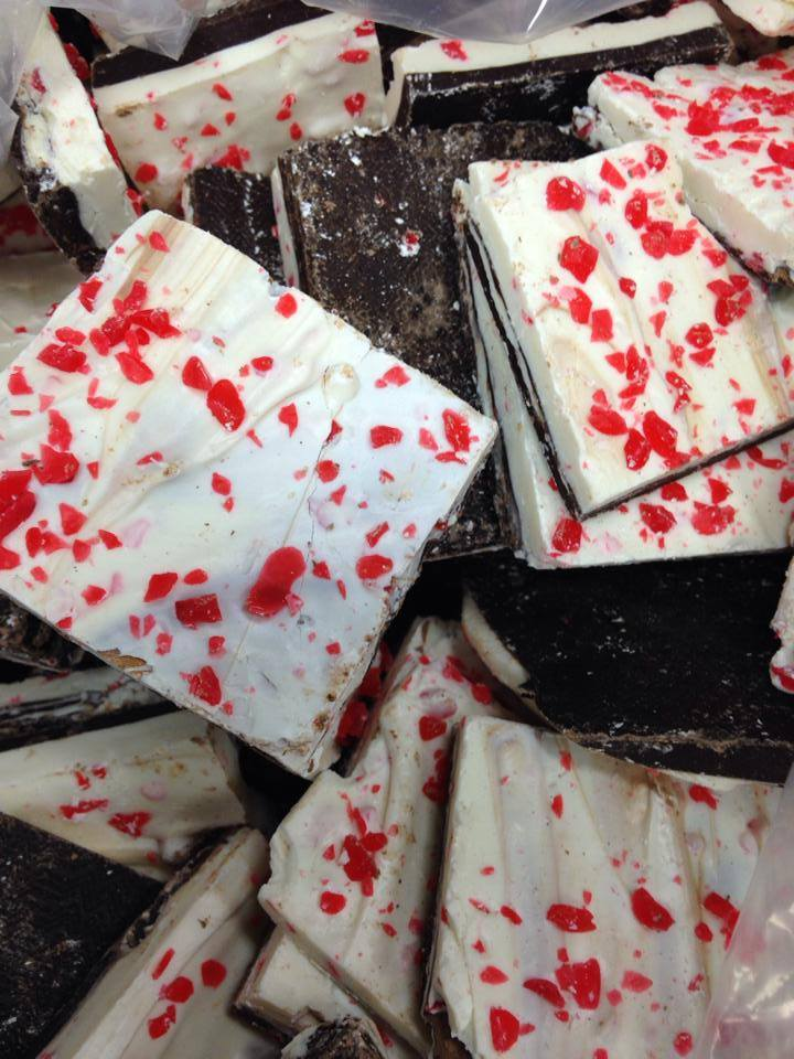 Ooooh, peppermint bark.