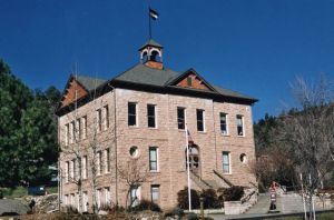 The Animas Museum in Durango's historic school building.