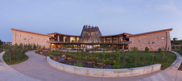 The Southern Ute Cultural Center and Museum in Ignacio, Colorado. (Photo: SUCCM.org)