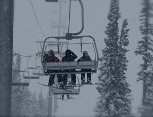 All the slopes (and all six ski lifts) are open and running at Wolf Creek Ski Area in Pagosa Springs, Colorado.
