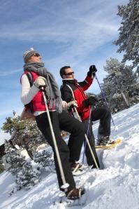 Durango snowshoeing