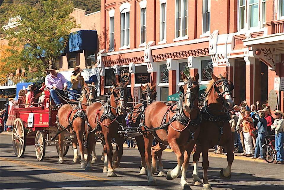 Durango Cowboy Poetry Gathering - Cowboy Parade