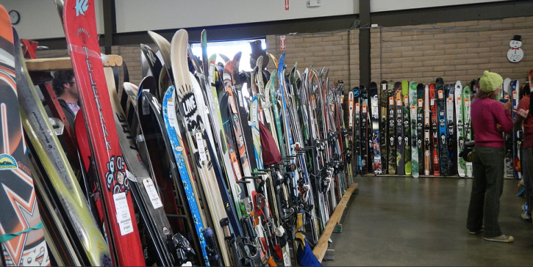 Pick up some new-to-you ski and snowboard gear during the 51st annual Hesperus Ski Patrol Ski Swap on Saturday, Nov. 1, at the La Plata County Fairgrounds in Durango.