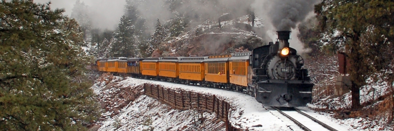Durango train winter brunch trains