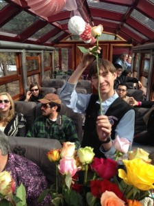 Durango train Valentine's Day