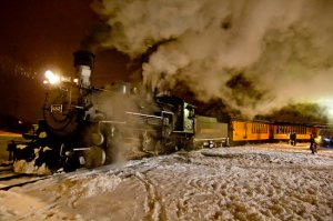 All aboard the 2015 Durango Silverton Polar Express.