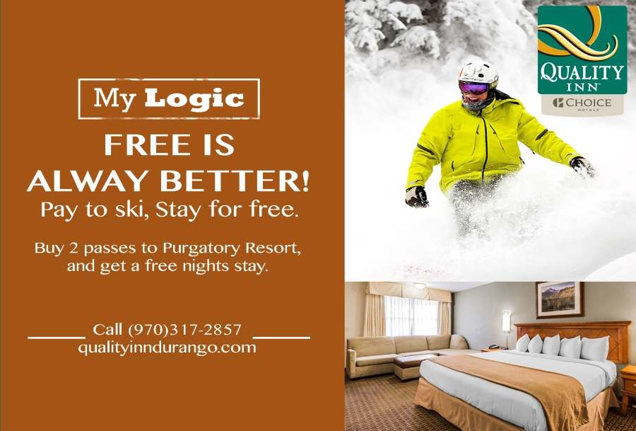 Ski Purgatory in Durango, Stay at the Quality Inn For free