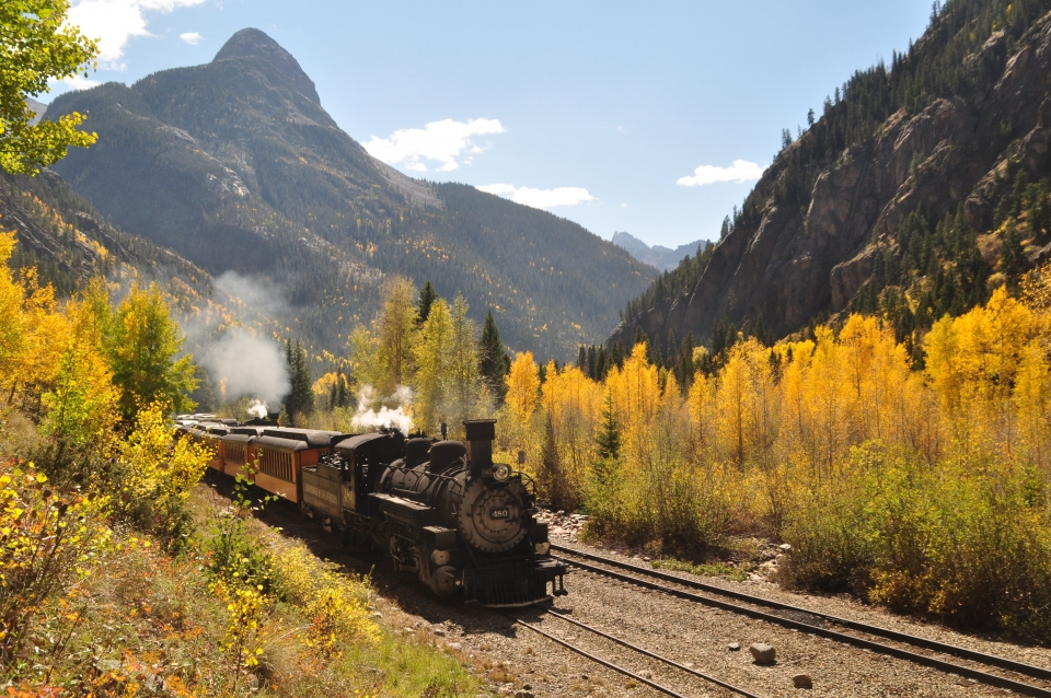 Durango Train_Fall Photographer Train