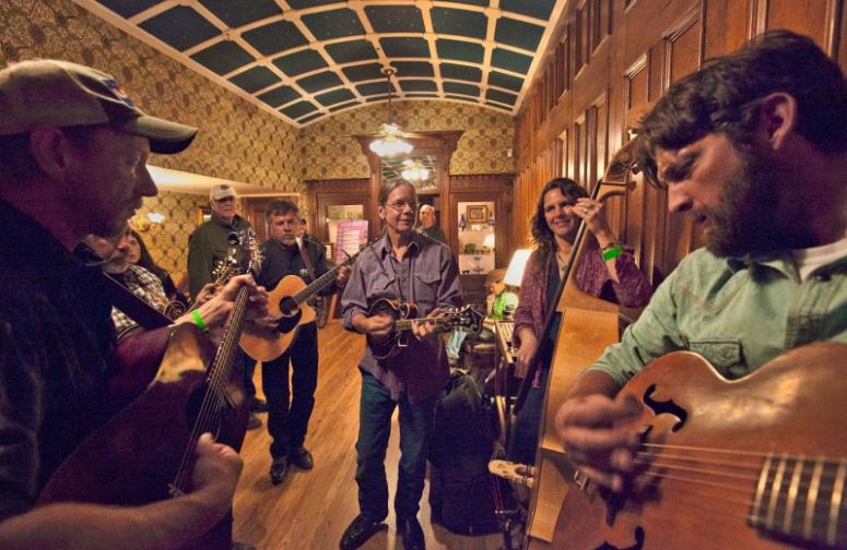 Durango Bluegrass Meltdown jam sessions