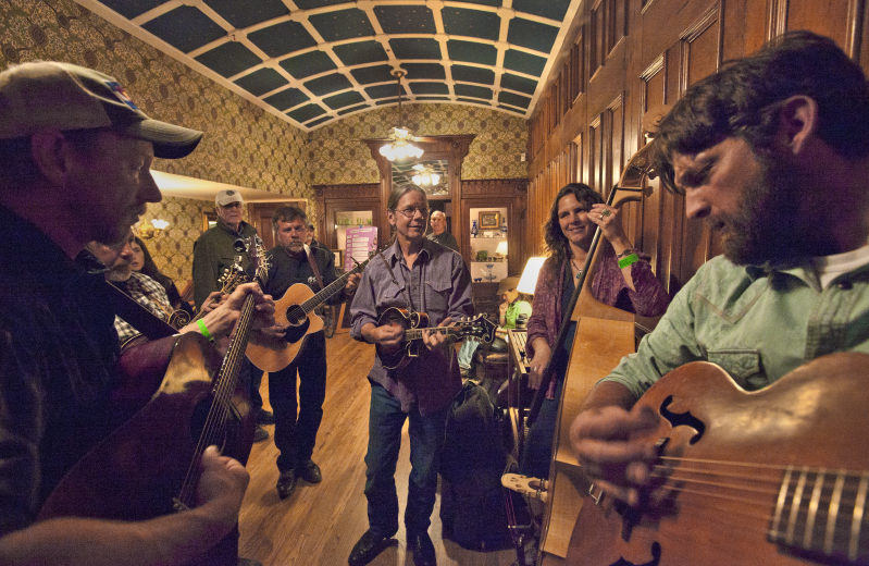 Durango Bluegrass Meltdown jam sessions